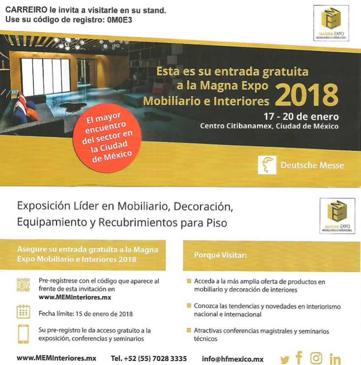 Invitación Expo Banamex 2018